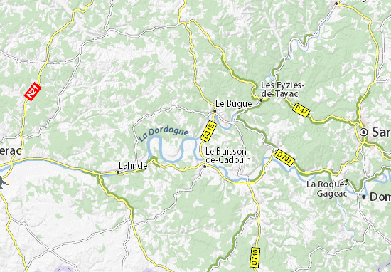 Map of Limeuil  Michelin Limeuil map  ViaMichelin