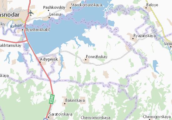 Carte-Plan Ponezhukay