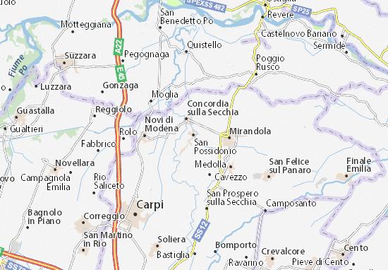 Mappe-Piantine San Possidonio