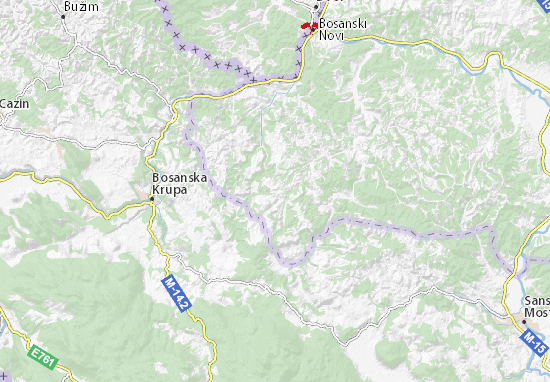 Karte Stadtplan Donji Dubovik