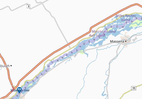 Morrisburg Map