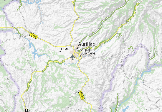 Arpajon-sur-Cère Map