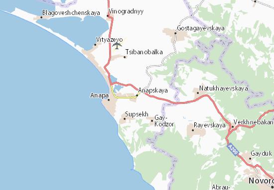 Anapskaya Map