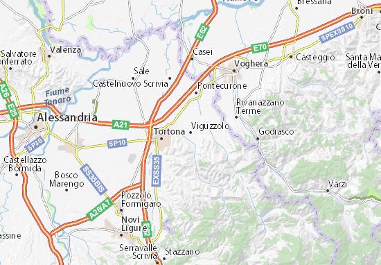 Mappe-Piantine Viguzzolo