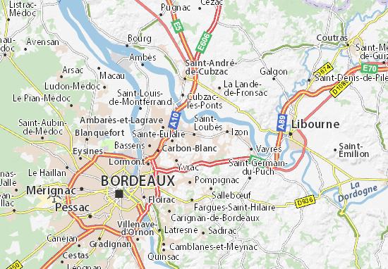 Mappe-Piantine Saint-Loubès