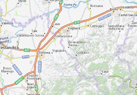 Rivanazzano Terme Map