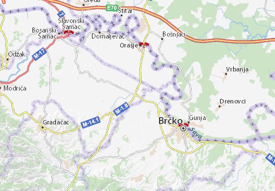 Lončari Map