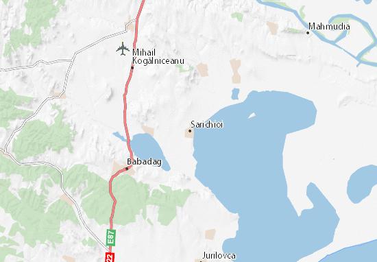 Sarichioi Map