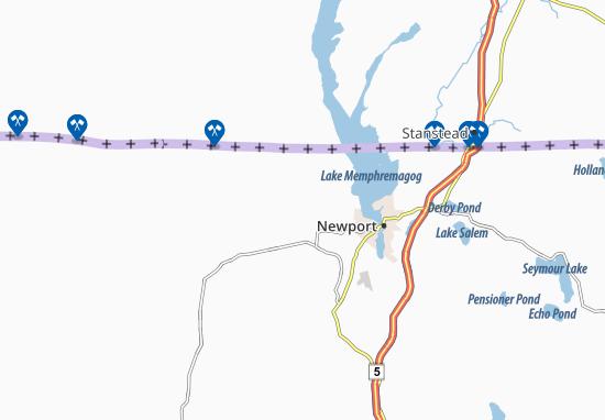 Newport Center Map