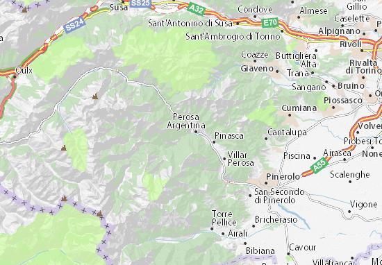 Mappe-Piantine Pomaretto
