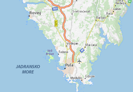 Mapas-Planos Vodnjan