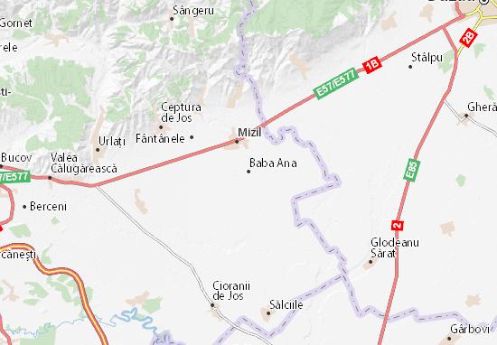 Mapa Plano Baba Ana