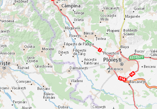 Nedelea Map