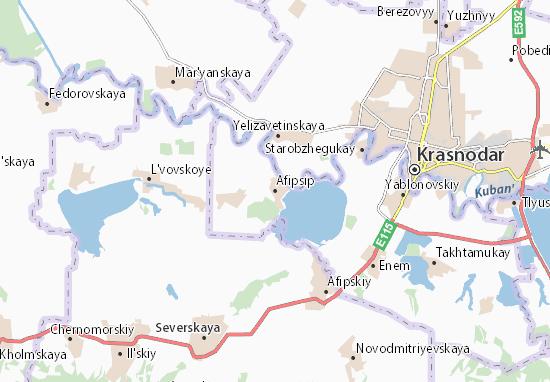 Afipsip Map