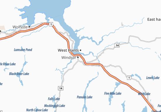 West Hants Map
