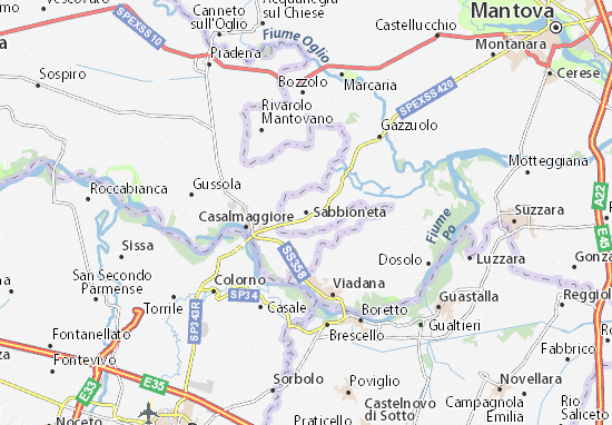 Mappe-Piantine Sabbioneta