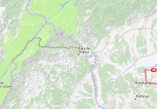 Mapas-Planos Baia de Aramă