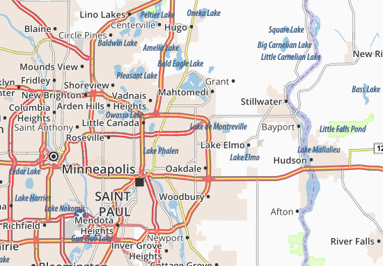 North Saint Paul Map