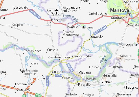 Rivarolo del Re Map