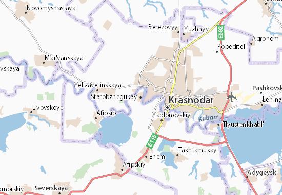 Kaart Plattegrond Starobzhegukay