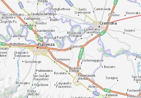 Mappe-Piantine Caorso