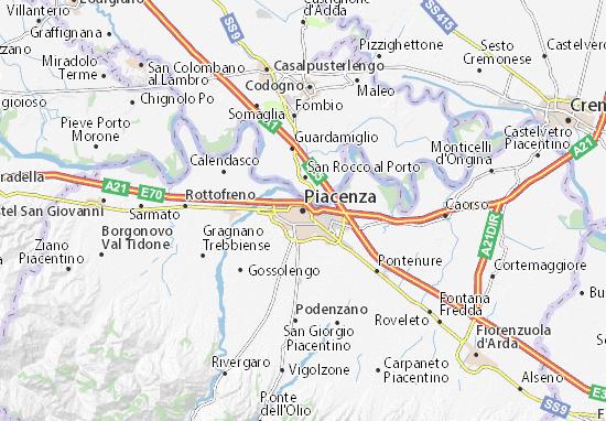 Carte-Plan Piacenza