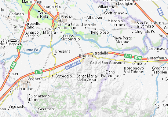 Mappe-Piantine Broni