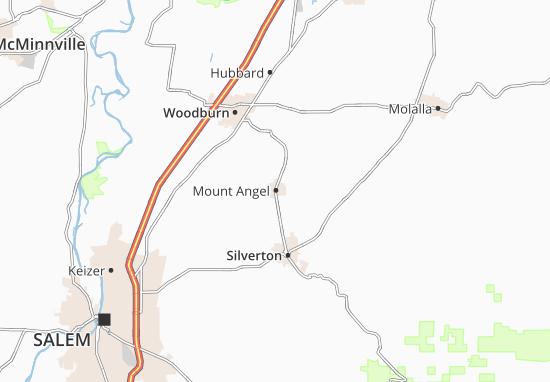Mount Angel Map