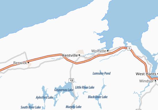 Mapas-Planos Kentville