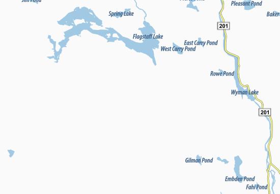 Carrabassett Map