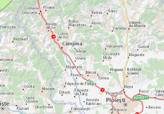 Mislea Map