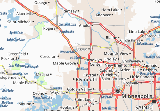 Maple Grove Map