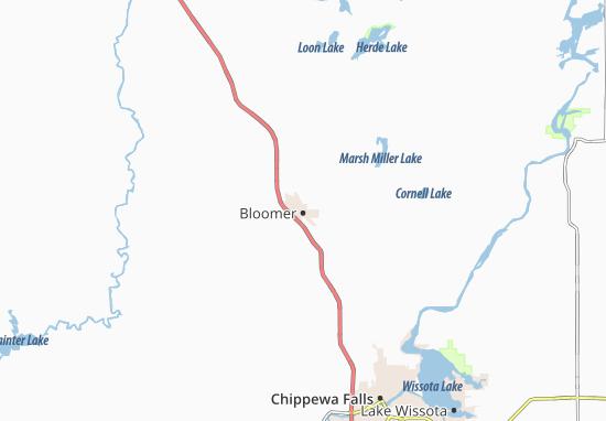 Bloomer Map