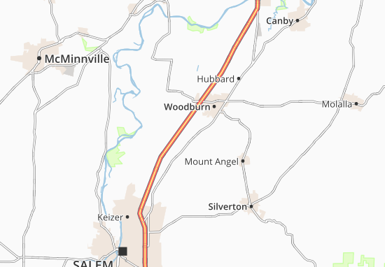 Gervais Map