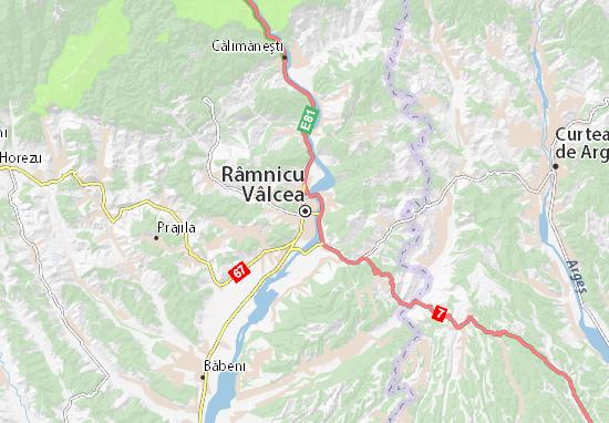 Mapa Plano Râmnicu Vâlcea
