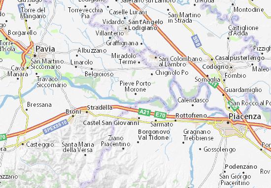 Mappe-Piantine Pieve Porto Morone