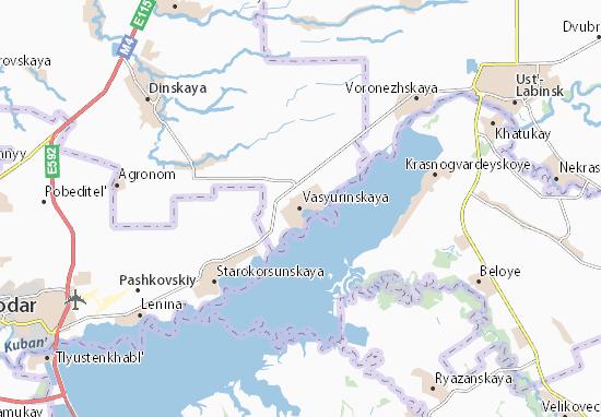 Vasyurinskaya Map