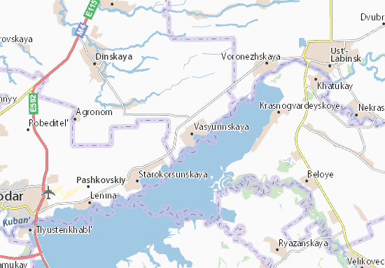 Carte-Plan Vasyurinskaya