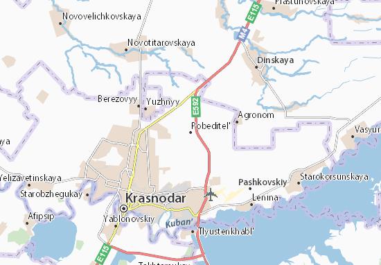 Pobeditel' Map