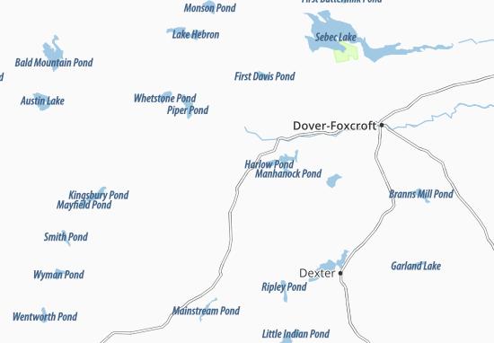 Kaart Plattegrond Parkman