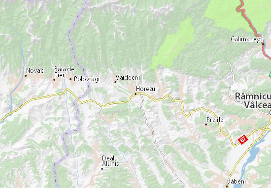 Mapas-Planos Horezu