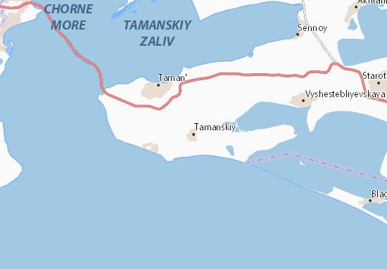 Tamanskiy Map