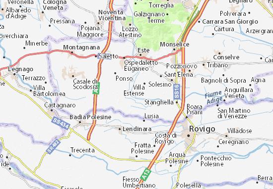 Carmignano Map