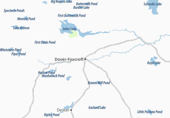 Dover-Foxcroft Map