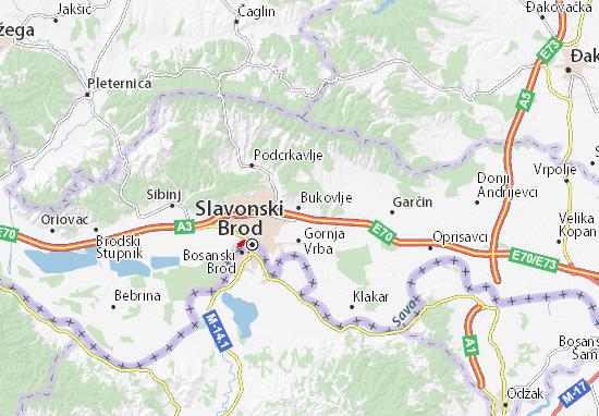Mappe-Piantine Bukovlje