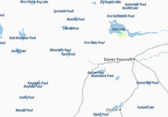 Kaart Plattegrond Abbot Village
