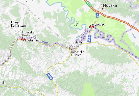 Karte Stadtplan Hrvatska Dubica