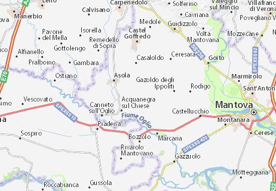 Mariana Mantovana Map