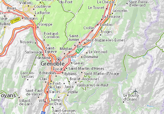 Domène Map