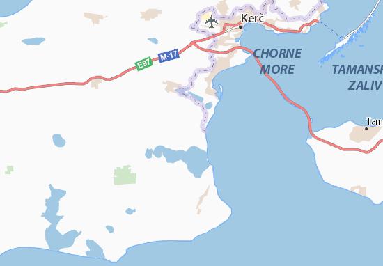 Mapa Plano Chelyadinove